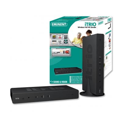 Eminent iTRIO Full HD zender Mediaspeler - Zwart