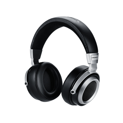 Lasmex 50 mm, 64 ohm, 15 - 25000 Hz, 86 dB, 30 mW, 1.5 m, 3 % THD, 3.5 mm + 6.3 mm, 320 g Headset - Zwart,Zilver