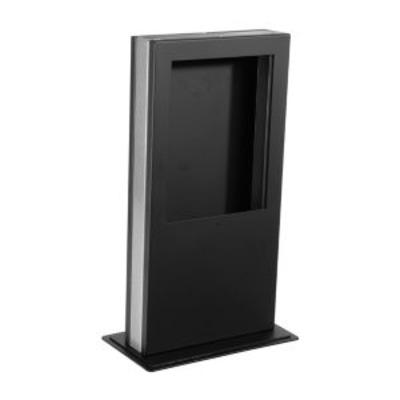 Peerless Desktop Kiosk, f/ iPad Tablets, Capacity 5lb (2.2kg), Black Multimedia kar & stand - Zwart