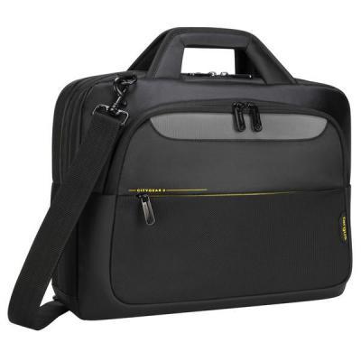 """Targus CityGear 15.6"""" Topload Laptop Case Black Laptoptas - Zwart"""