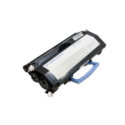 Dell toner: Toner Cartridge f/, 6000 pages, Black, High Yield - Zwart