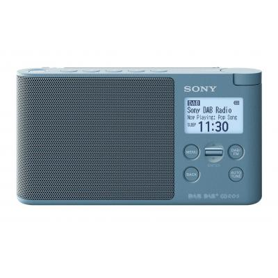 Sony radio: XDR-S41D - Blauw