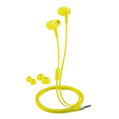 LogiLink HS0043 Headset - Geel