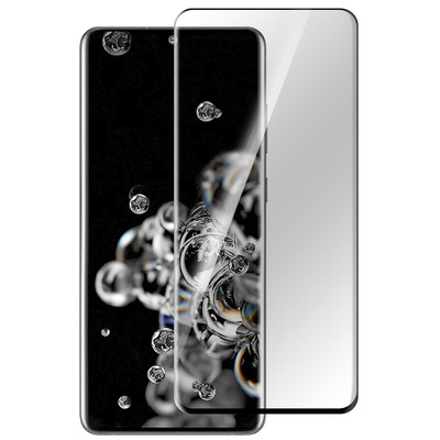 ESTUFF Samsung Galaxy S20 Ultra Screen protector - Zwart,Transparant