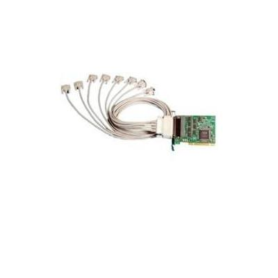 Brainboxes Universal 8-Port RS232 PCI Card (LP) Interfaceadapter