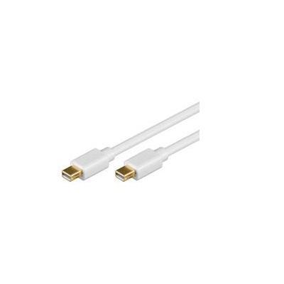 Goobay 1m Mini DisplayPort Cable - Wit