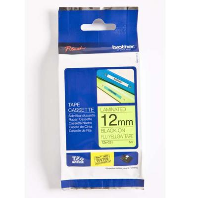 Brother TZEC31 labelprinter tape
