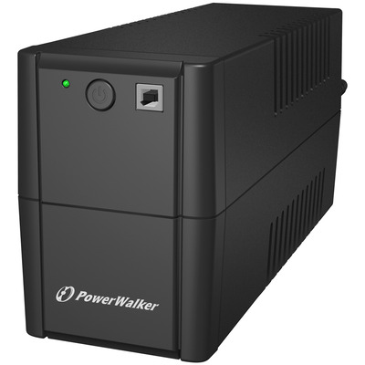 PowerWalker VI 850 SE UPS - Zwart