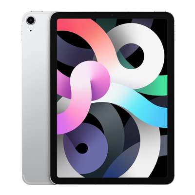 Apple iPad Air (2020) Wi-Fi + Cellular 256GB 10.9 inch Silver Tablet - Zilver
