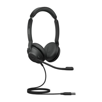 Jabra Evolve2 30, MS Stereo Headset - Zwart