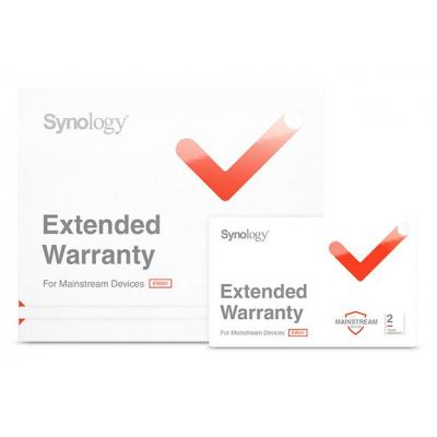 Synology EW202, Two-year warranty extension f/ RS1219+,RS2818RP+,RS2418+,RS2418RP+,RS818+,RS818RP+ Garantie
