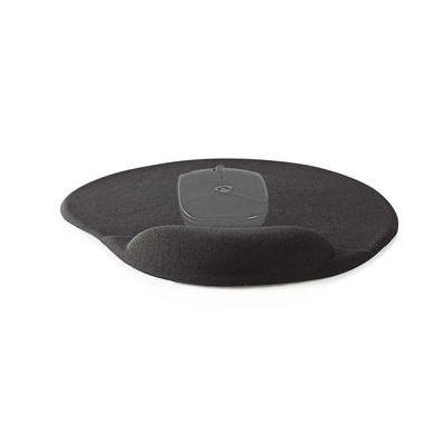 Nedis Mouse pad, Gel, Black