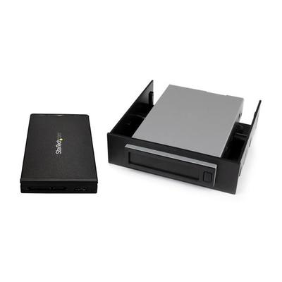 "StarTech.com Hot-swap harde schijf bay voor 2.5"" SATA SSD / HDD USB 3.1 (10Gbps) behuizing verwijderbare ....."