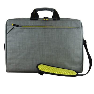 Tech air EVO Laptoptas - Zwart, Grijs, Limoen
