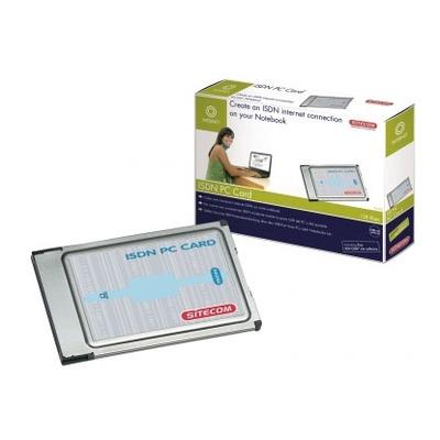 Sitecom PC-003 - ISDN PC-Card interfaceadapter