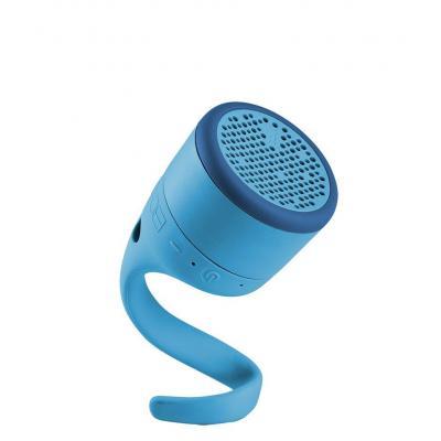 Boom draagbare luidspreker: BT, WR, Li, 8h, Micro USB, Blue - Blauw
