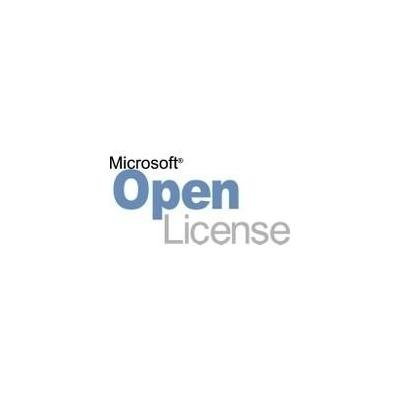 Microsoft software licentie: Office, OLP NL(No Level), License & Software Assurance, 1 license, EN