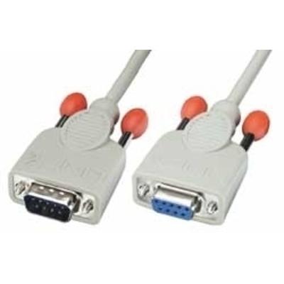 Lindy Sub D-9/Sub D-9 Seriele kabel - Grijs