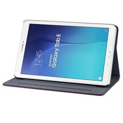 Gecko Easy-click beschermhoes geschikt voor Samsung Galaxy Tab E 9.6 Tablet case - Bruin, Grijs