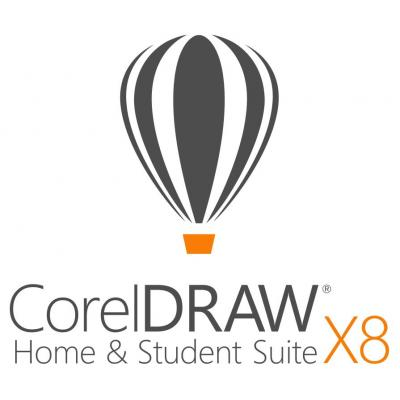 Corel grafische software: CorelDRAW Home & Student Suite X8 ESD
