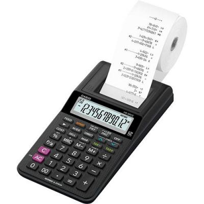 Casio calculator: HR-8RCE - Zwart