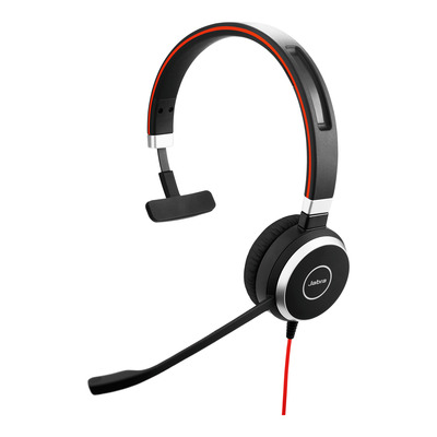 Jabra Evolve 40 UC Mono USB-C Headset - Zwart