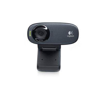 Logitech webcam: C310 - Zwart