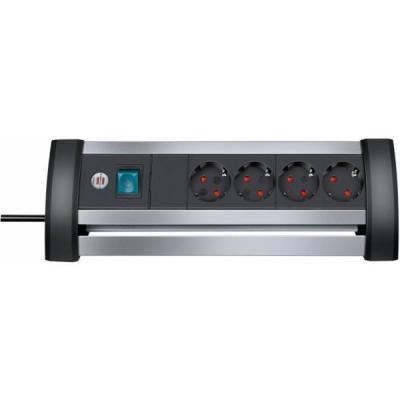 Brennenstuhl surge protector: BN-TCD1111 - Aluminium, Zwart
