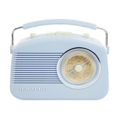 König radio: Konig Stylish Retro Table Radio - Baby Blue - Blauw