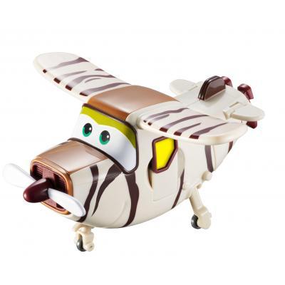 Alpha animation & toys toy vehicle: Super Wings Speelfiguren Transforming! Bello - Bruin, Wit