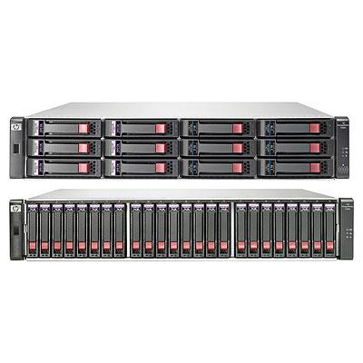Hewlett Packard Enterprise P2000 G3 SAS MSA w/4 600GB 6G SAS 10K SFF HDD 2.4TB Bundle/TV SAN