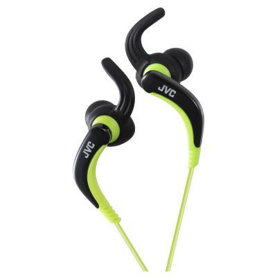 Jvc koptelefoon: HA-ETX30 - Zwart, Groen