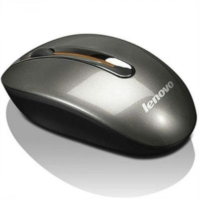 Lenovo computermuis: Wireless Mouse N3903A - Zwart, Grijs