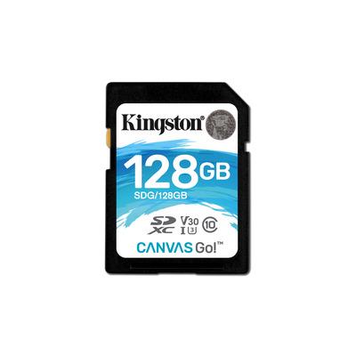 Kingston Technology Canvas Go! Flashgeheugen - Zwart, Blauw, Wit