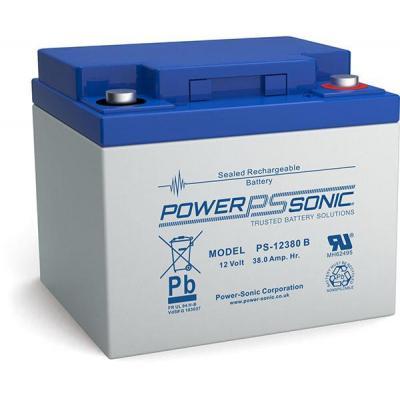 Power-Sonic PS-12380VDS UPS batterij - Blauw, Grijs