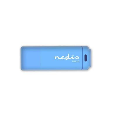 Nedis FDRIU216BU USB flash drive - Blauw