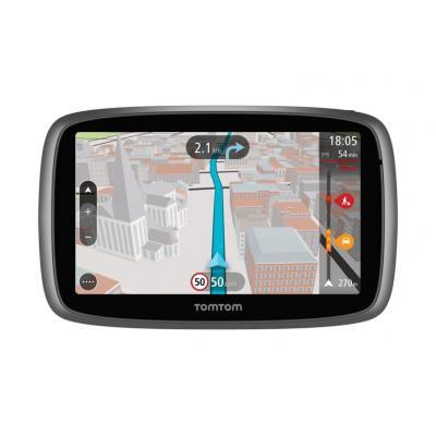 Tomtom navigatie: GO 510 World - Zwart, Zilver