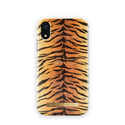 IDeal of Sweden voor Apple iPhone XR Mobile phone case - Zwart, Oranje