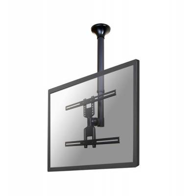 "Newstar flat panel plafond steun: De FPMA-C400BLACK is een plafondsteun voor flat screens t/m 60"" (152 cm) - Zwart"