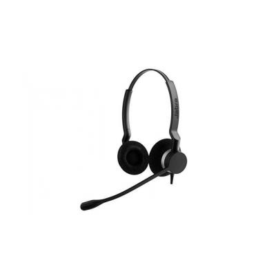 Jabra Biz 2300 QD Siemens Duo Headset - Zwart