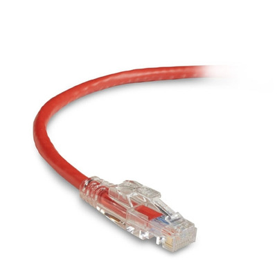 Black Box GigaTrue 3 Lockable Patch Cable, LSZH, Rj45/Rj-45, Male/Male, 550MHz, 1.5m Netwerkkabel - Rood