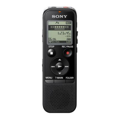 Sony voice recorder: Voice Rec.4GB MP3 Entry Direct USB Memory Slot - Zwart