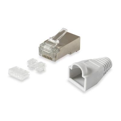 Equip 121181 Kabel connector - Zilver