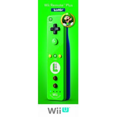 Nintendo game controller: Wii Remote Plus - Luigi - Groen