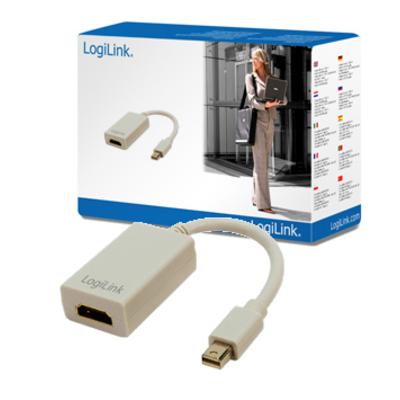 LogiLink Mini DisplayPort / HDMI Adapter - Grijs