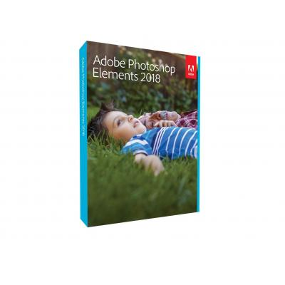 Adobe grafische software: Photoshop Elements 2018 PC (Dutch)