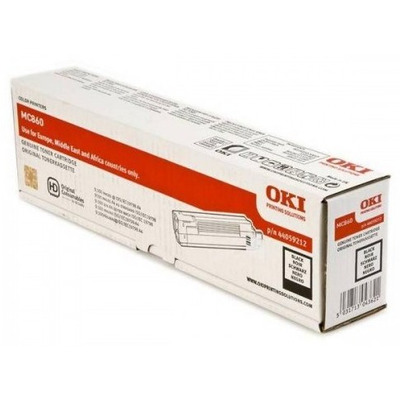 OKI cartridge: Black Toner f/ MC860 - Zwart