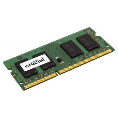 Crucial RAM-geheugen: 4GB DDR3-1066 SO-DIMM CL7