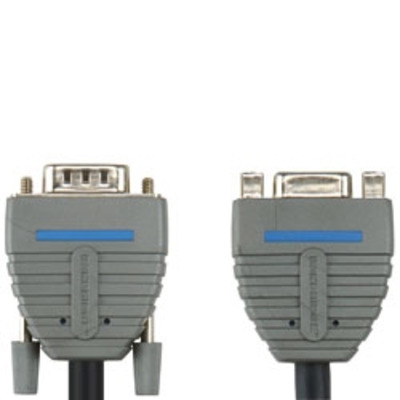 Bandridge BCL1002 VGA kabel  - Zwart, Blauw, Grijs