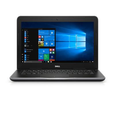 Dell laptop: Latitude 3380 - Zwart, Grijs